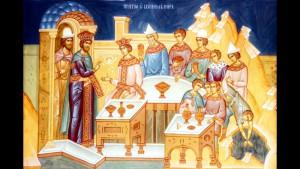 Проповедь в неделю святых праотец, о званых на брачный пир.