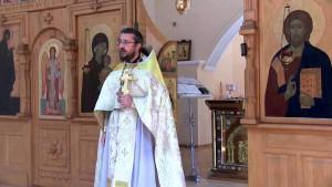 Христианская православная проповедь в Великую Субботу.