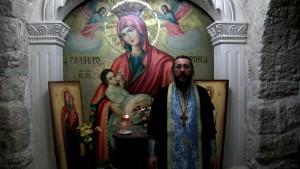 Христианская православная проповедь: Слово в монастыре Св. Герасима Иорданского. Святая Земля.