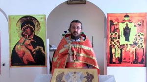 Христианская православная проповедь: Без Святого Причастия нет жизни.