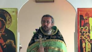 Христианская православная проповедь: Благословляйте проклинающих вас, благотворите ненавидящим вас и молитесь за обижающих и гонящих вас.
