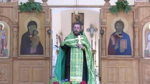 Христианская православная проповедь в День Святой Троицы Пятидесятница.