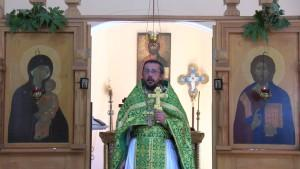 Христианская православная проповедь в День Святого Духа.
